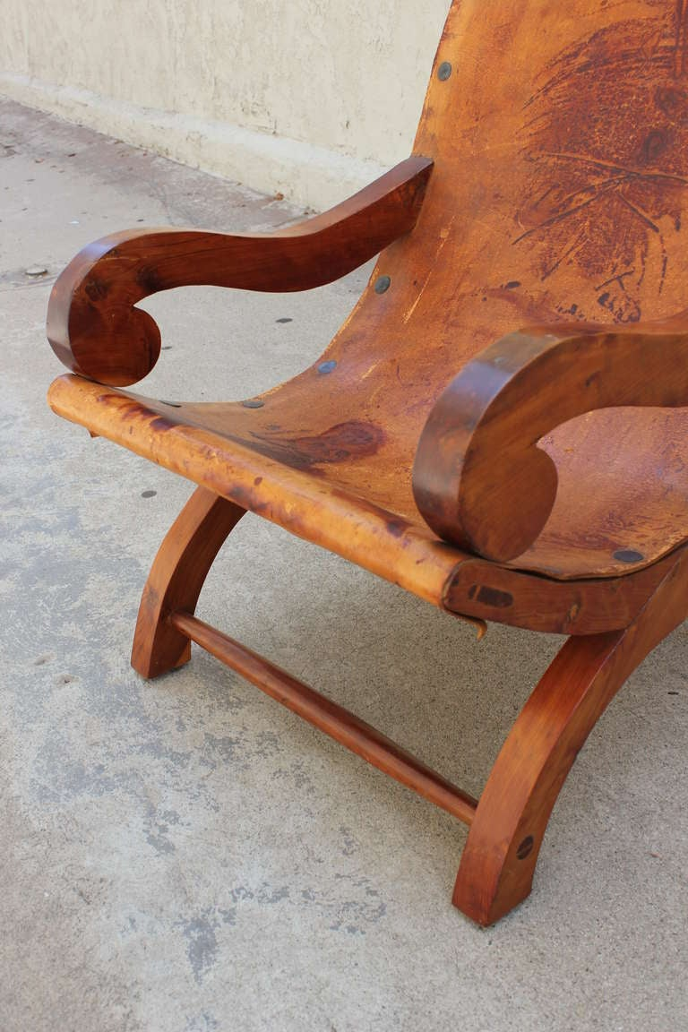"Pair of ""Miguelito"" Butaque Chairs 8"