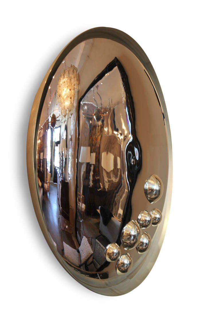 Aspis Mirror In Excellent Condition For Sale In Los Angeles, CA