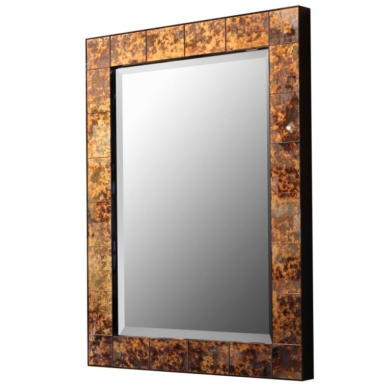 Tortoise Glass Mirror