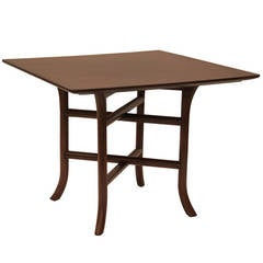 Robsjohn-Gibbings Walnut Side Table