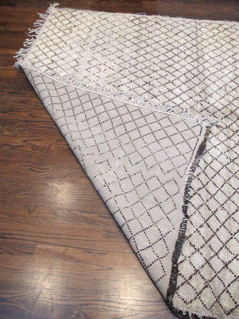 Vintage Beni Ourain Carpet 6