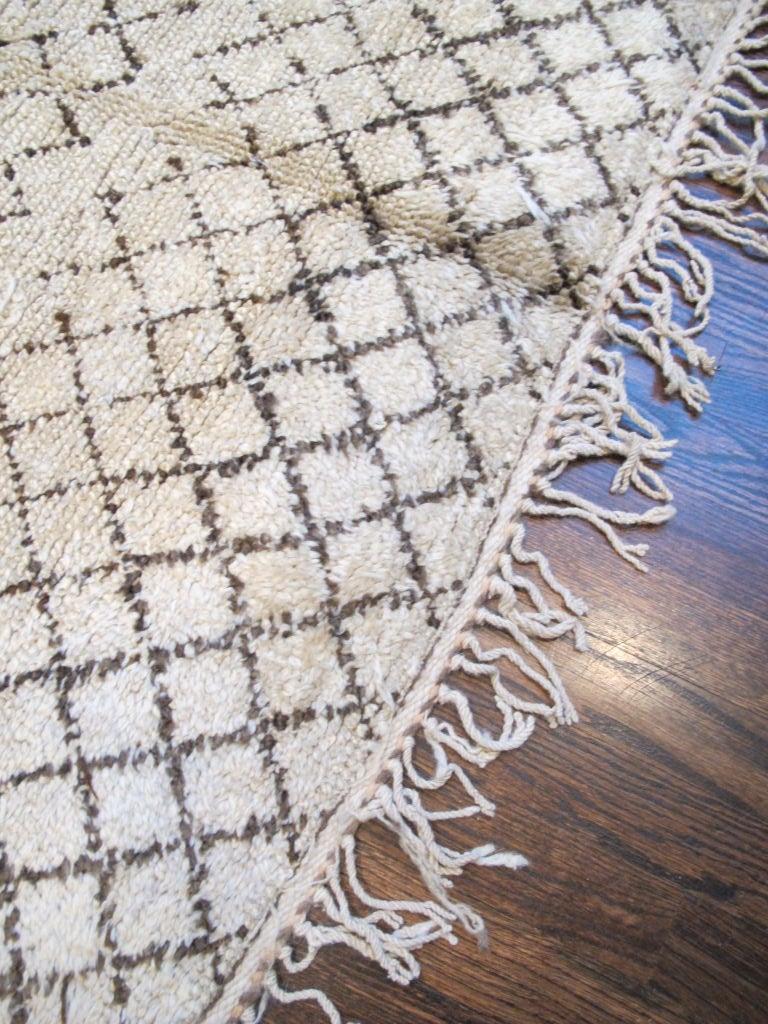 20th Century Vintage Beni Ourain Carpet