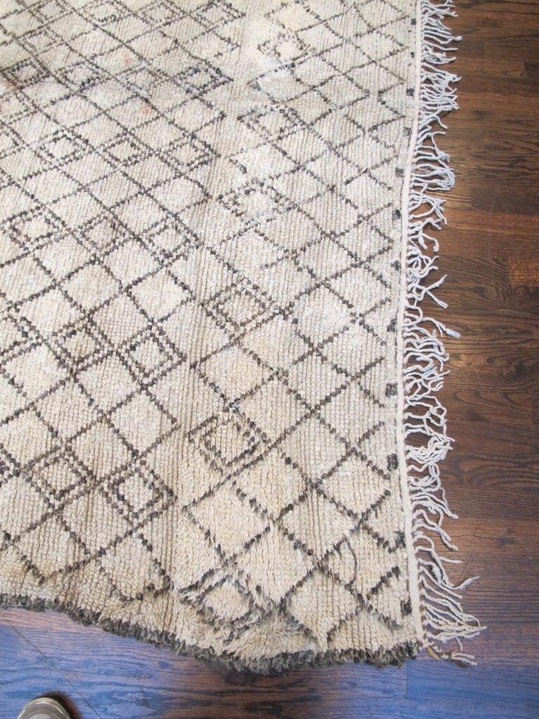 Vintage Beni Ourain Carpet 4