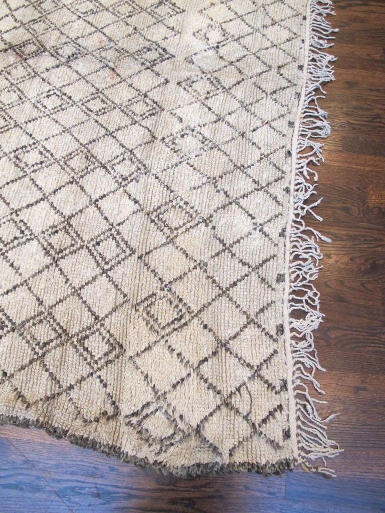 Vintage Beni Ourain Carpet 5