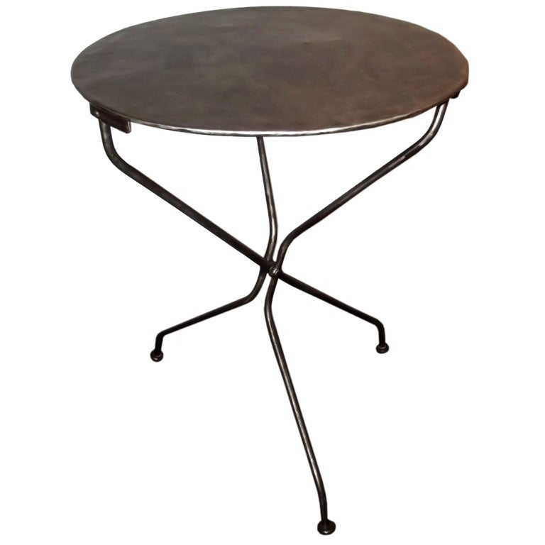 Folding bistro table at 1stdibs for Table 7 bistro