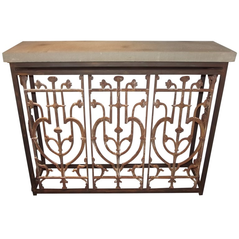 French balcony console at 1stdibs for Balcony console