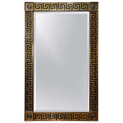 Large Mastercraft Greek Key Mirror
