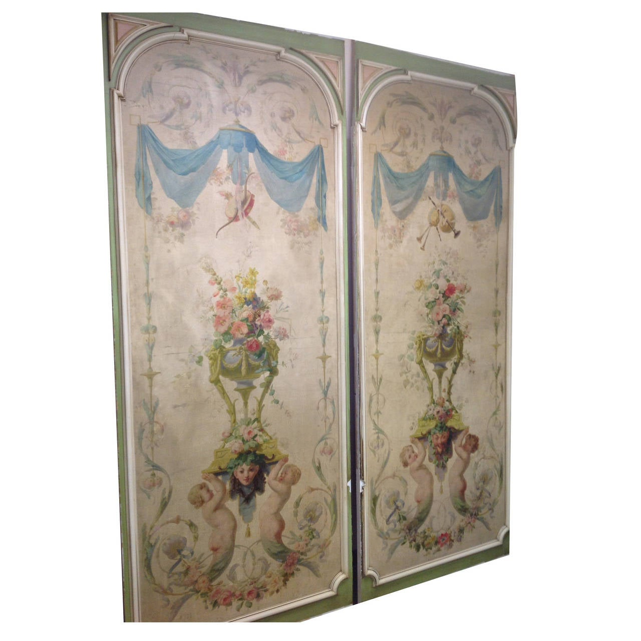 18th Century Boiserie from a French Chateau, Complete Room For Sale