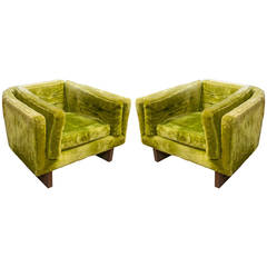 Adrian Pearsall for Craft Associates Pair of Lounge Chairs
