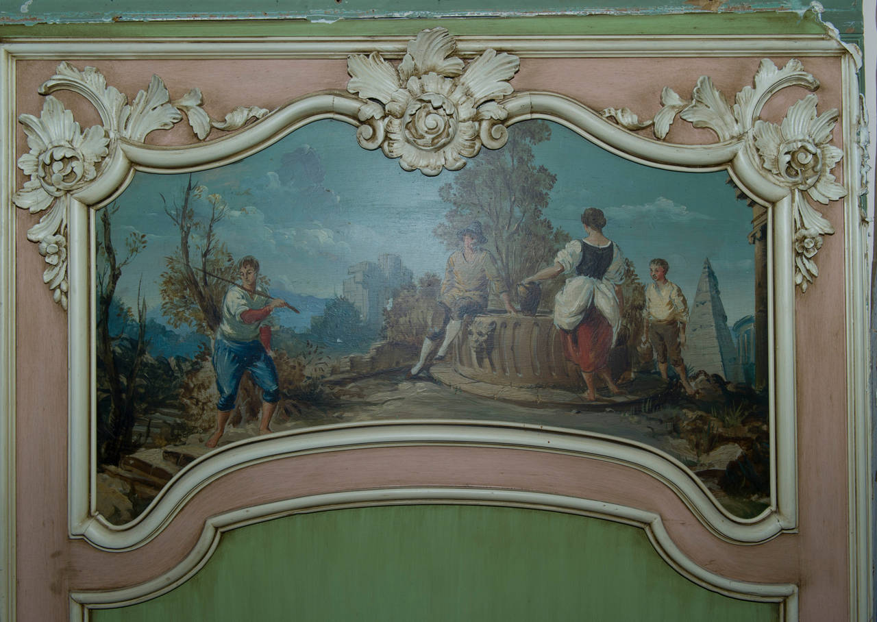 18th Century Boiserie from a French Chateau, Complete Room In Good Condition For Sale In Stamford, CT