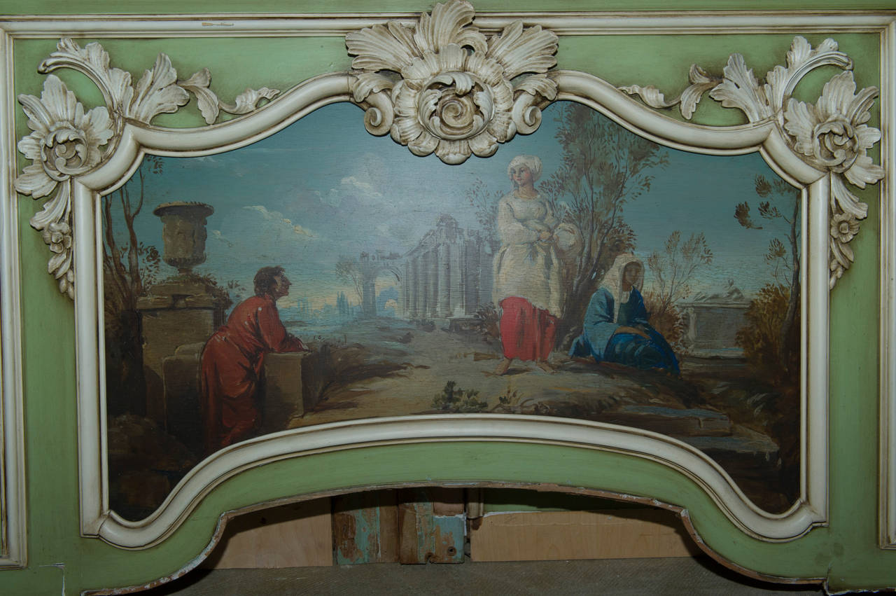 18th Century Boiserie from a French Chateau, Complete Room For Sale 1