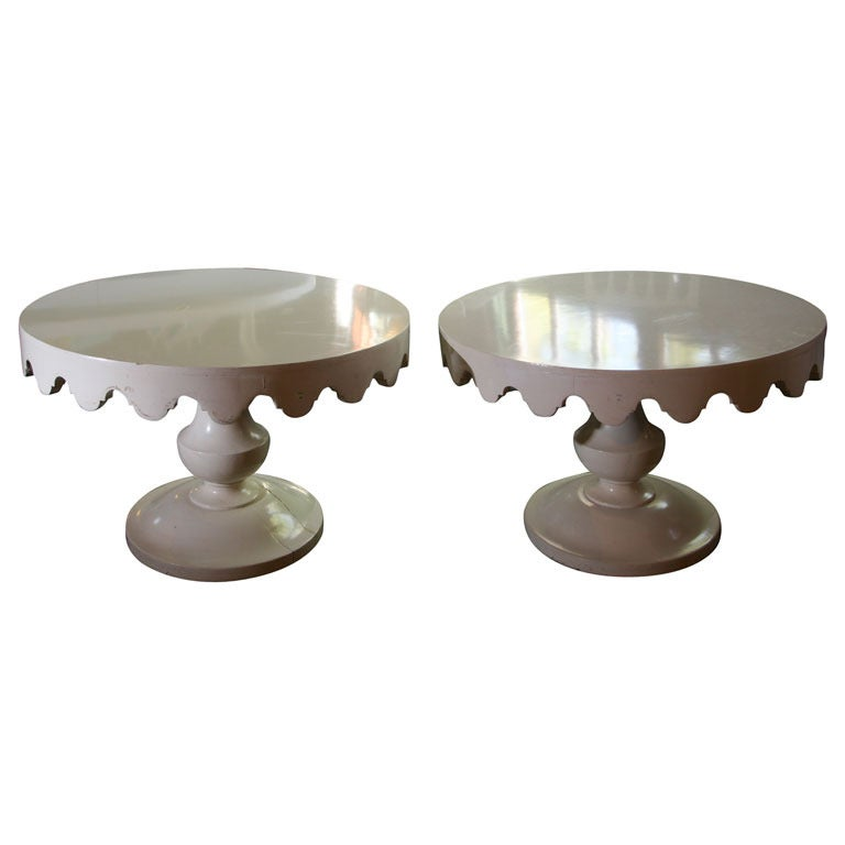 Pair of Original Dorothy Draper Tables