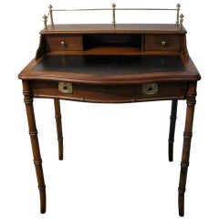 Faux Bamboo Ladies Desk