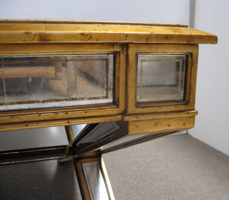 Mirrored Coffee Table Sale: Large Mirrored Coffee Table At 1stdibs