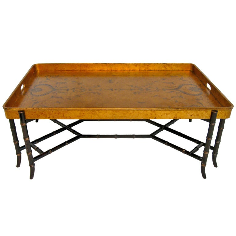 Painted Chinoiserie Coffee Table At 1stdibs