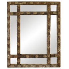 FRENCH OYSTER STICK MIRROR