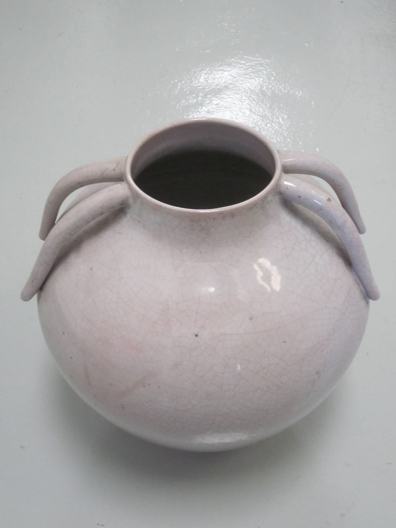 Italian Mid-Century Stoneware Vase by Marcello Fantoni 7