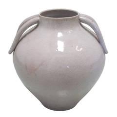 Italian Mid-Century Stoneware Vase by Marcello Fantoni