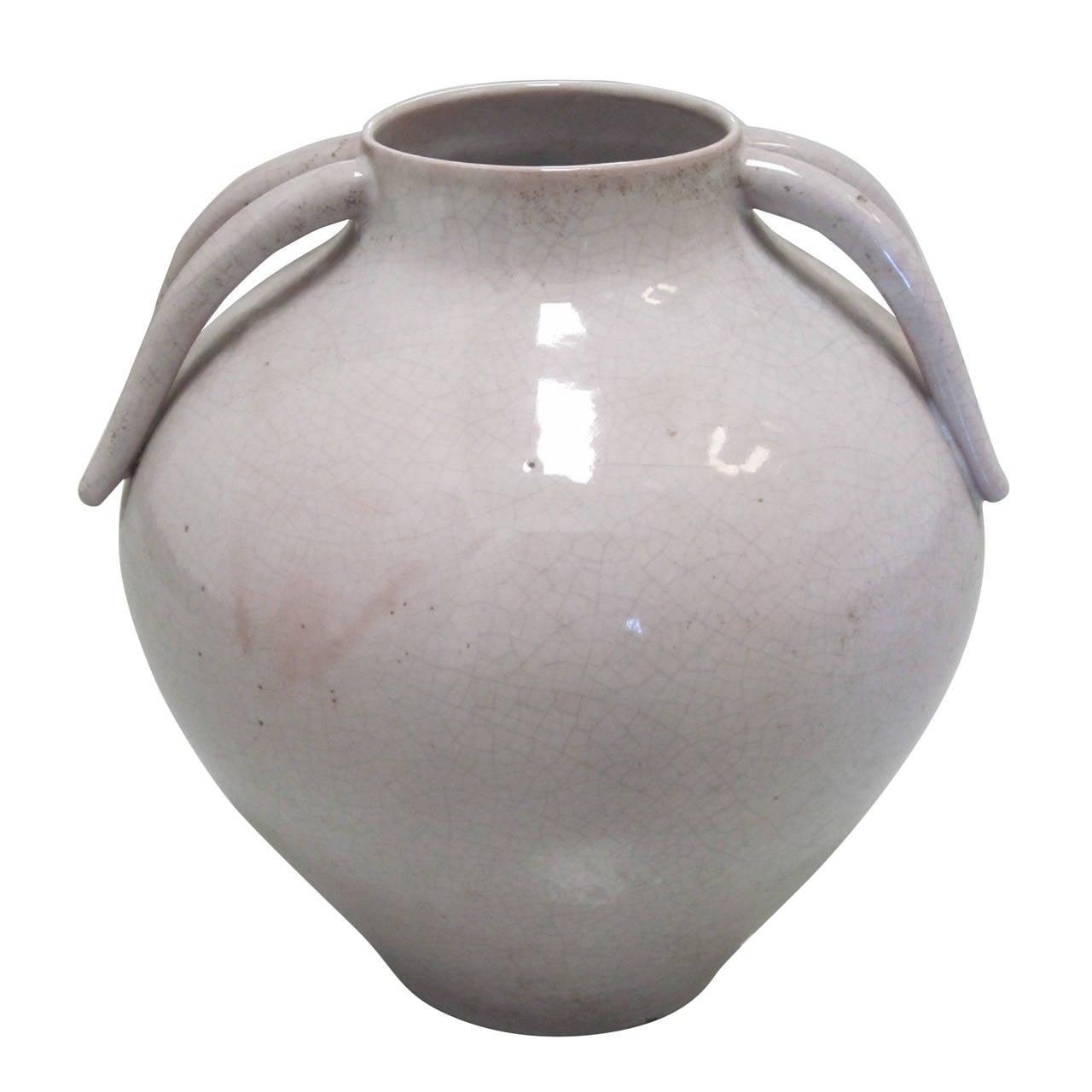 Italian Mid-Century Modern Stoneware Vase by Marcello Fantoni