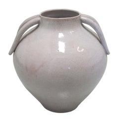Italian Mid-Century Modern Stoneware Vase / Urn / Amphora by Marcello Fantoni