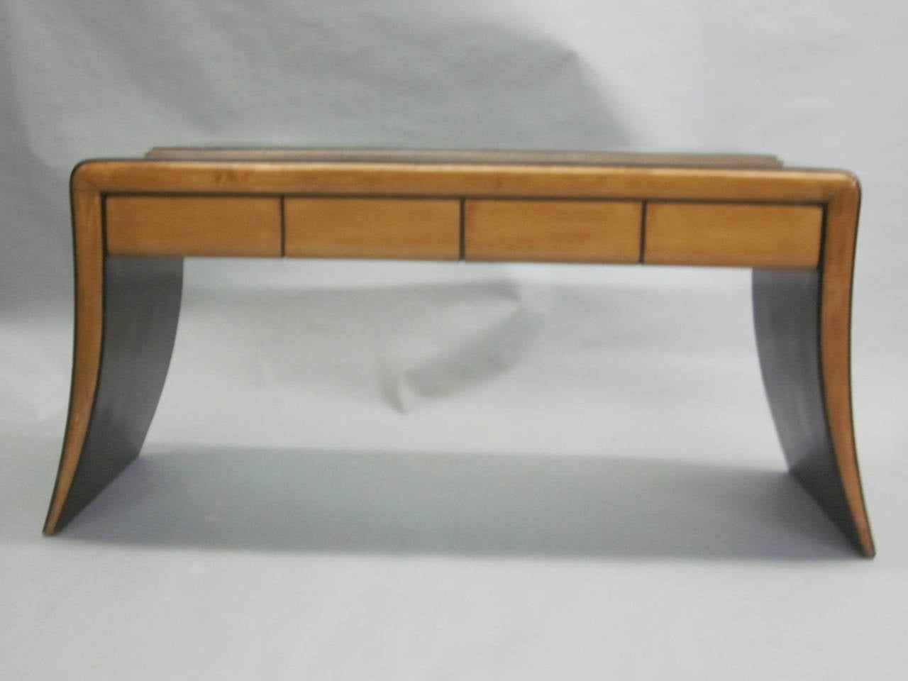 Italian Mid-Century Modern Neoclassical Vanity / Sofa Table by Paolo Buffa, 1930 4