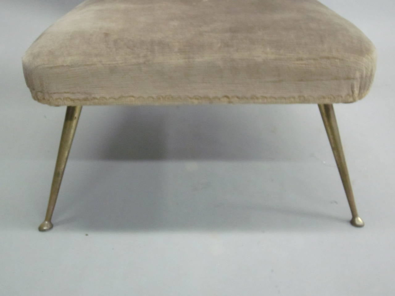 Pair of Italian Mid-Century Slipper Chairs Attributed to Marco Zanuso 8