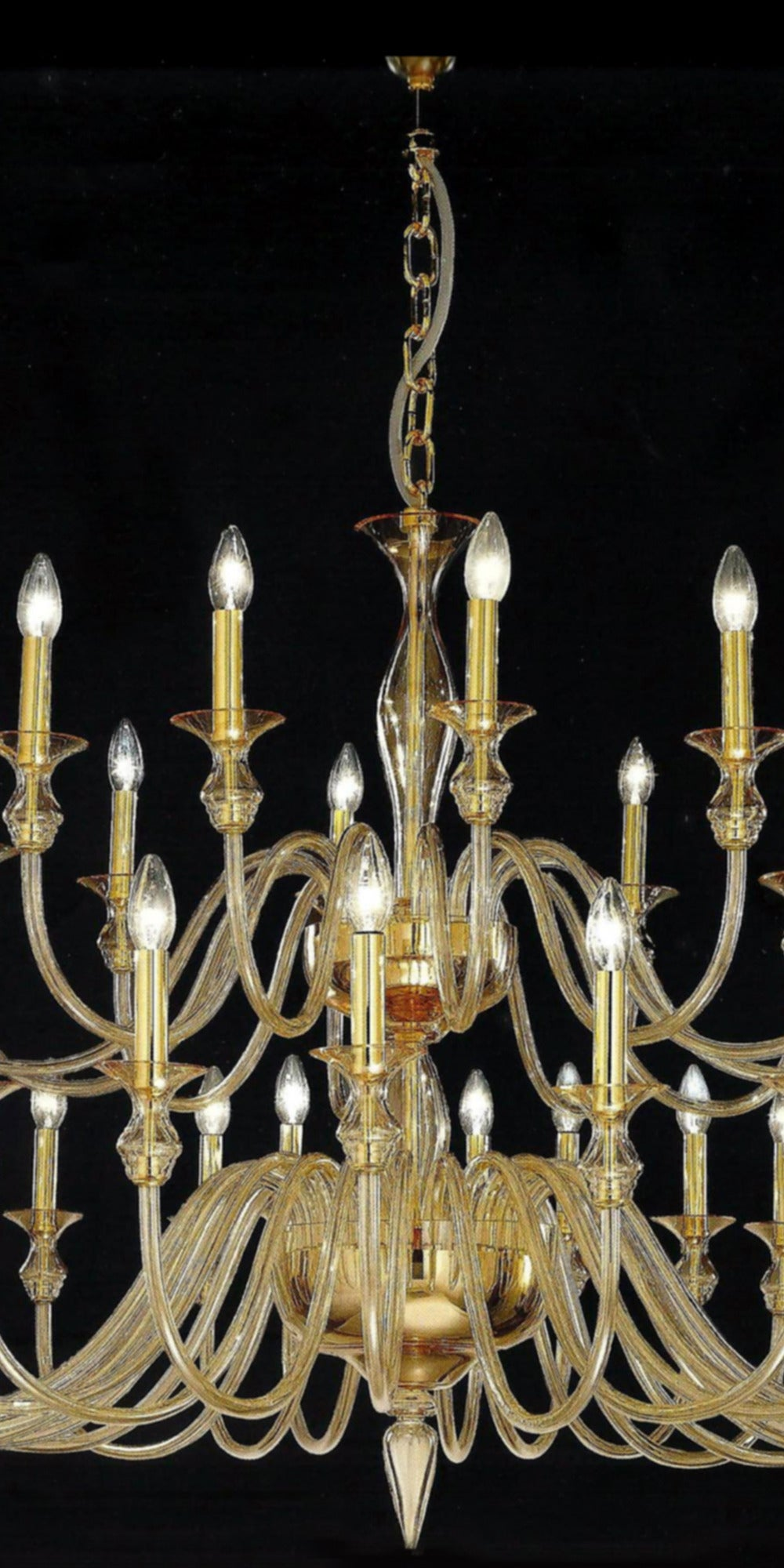 very large amber murano glass modern neoclassical chandelier for sale at 1stdibs. Black Bedroom Furniture Sets. Home Design Ideas