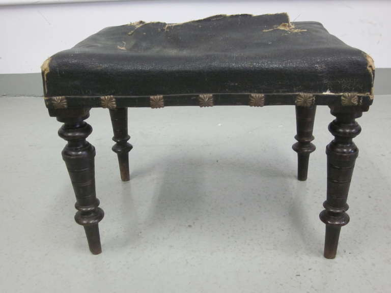 Pair of Italian Modern Neoclassical Benches or Stools 7