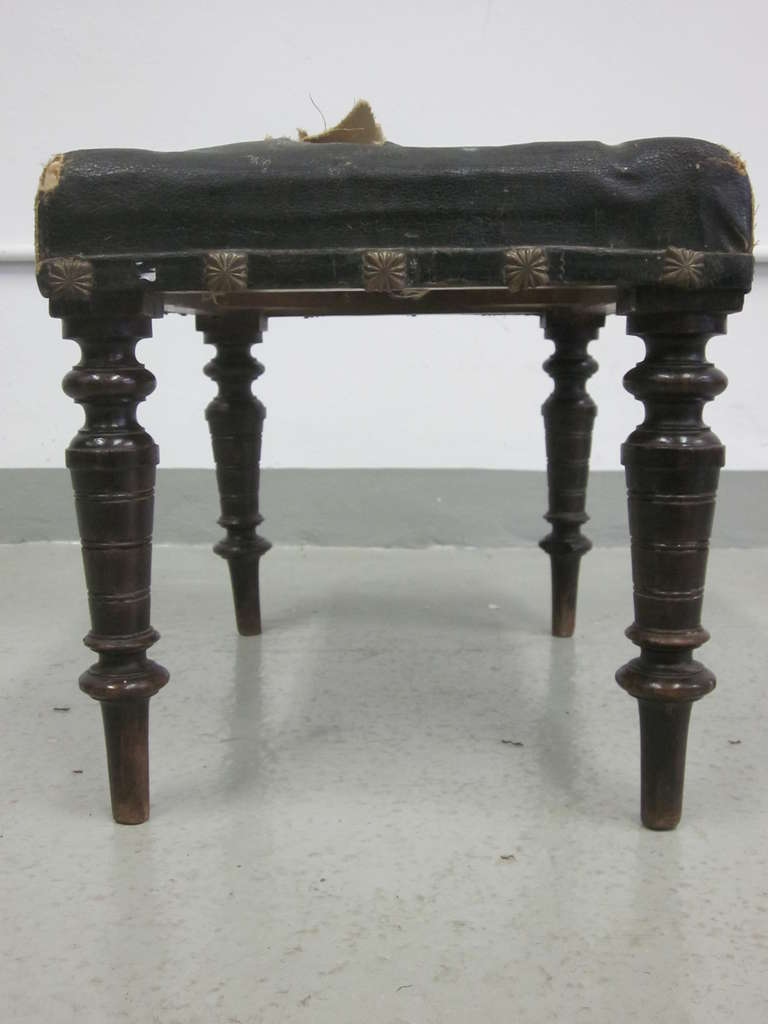 Pair of Italian Modern Neoclassical Benches or Stools 4