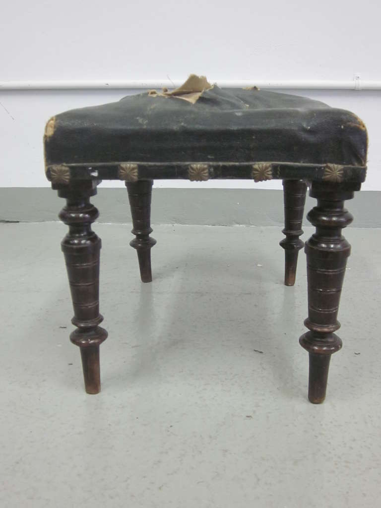 Pair of Italian Modern Neoclassical Benches or Stools 5