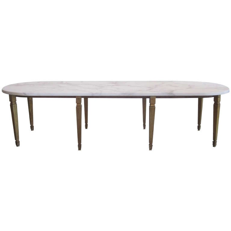 French Gilt Coffee Table: Important French Gilt Bronze Cocktail Table By Louis Sue Et Andre Mare For Sale At 1stdibs