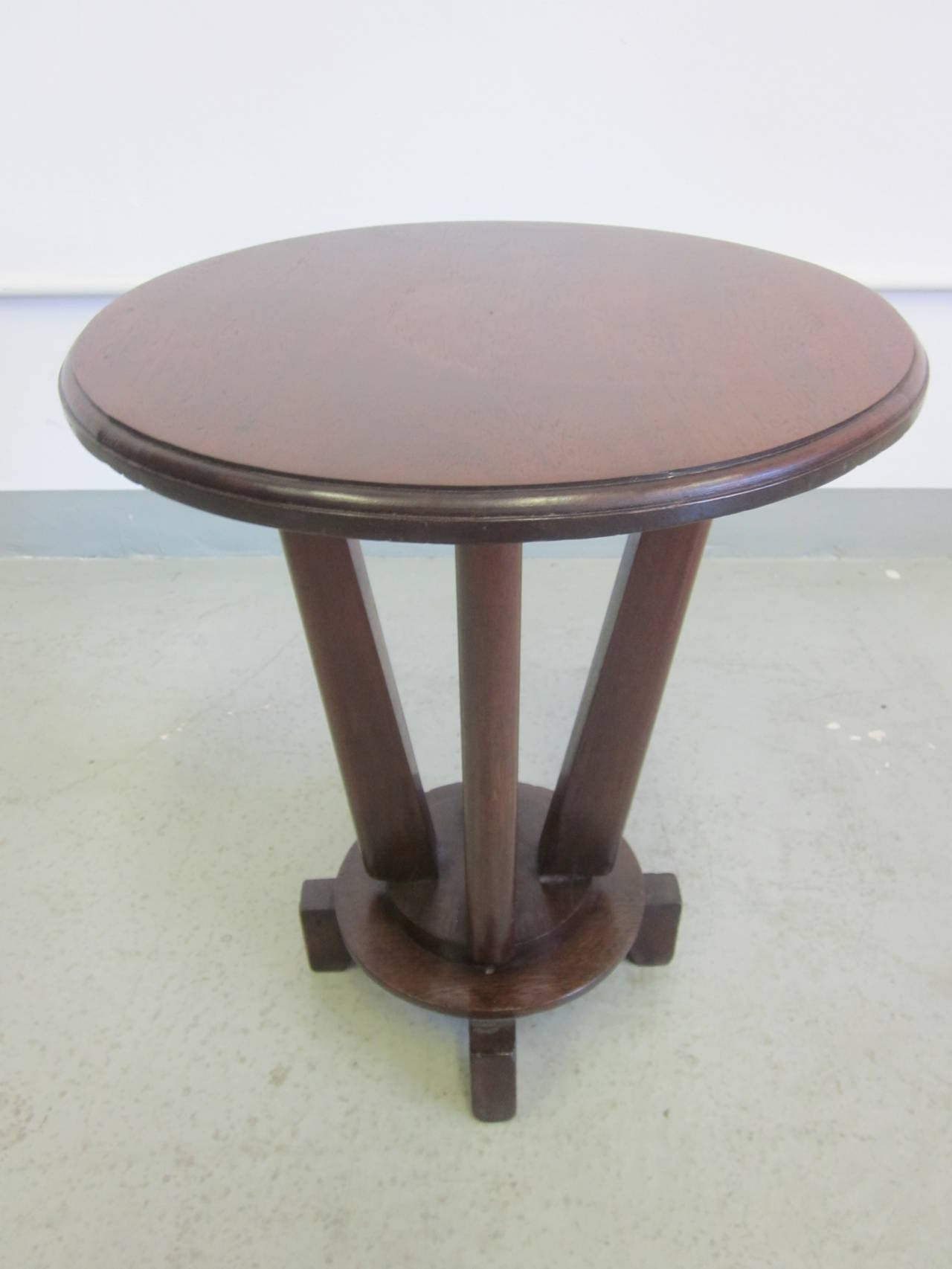 French Colonial Gueridon or Side Table In Good Condition For Sale In New York, NY
