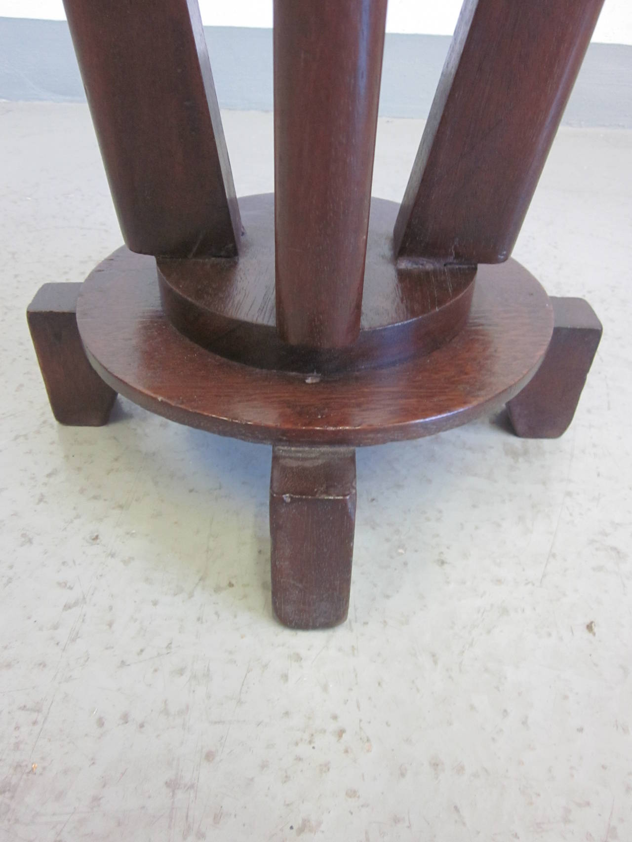 French Colonial Gueridon or Side Table For Sale 5