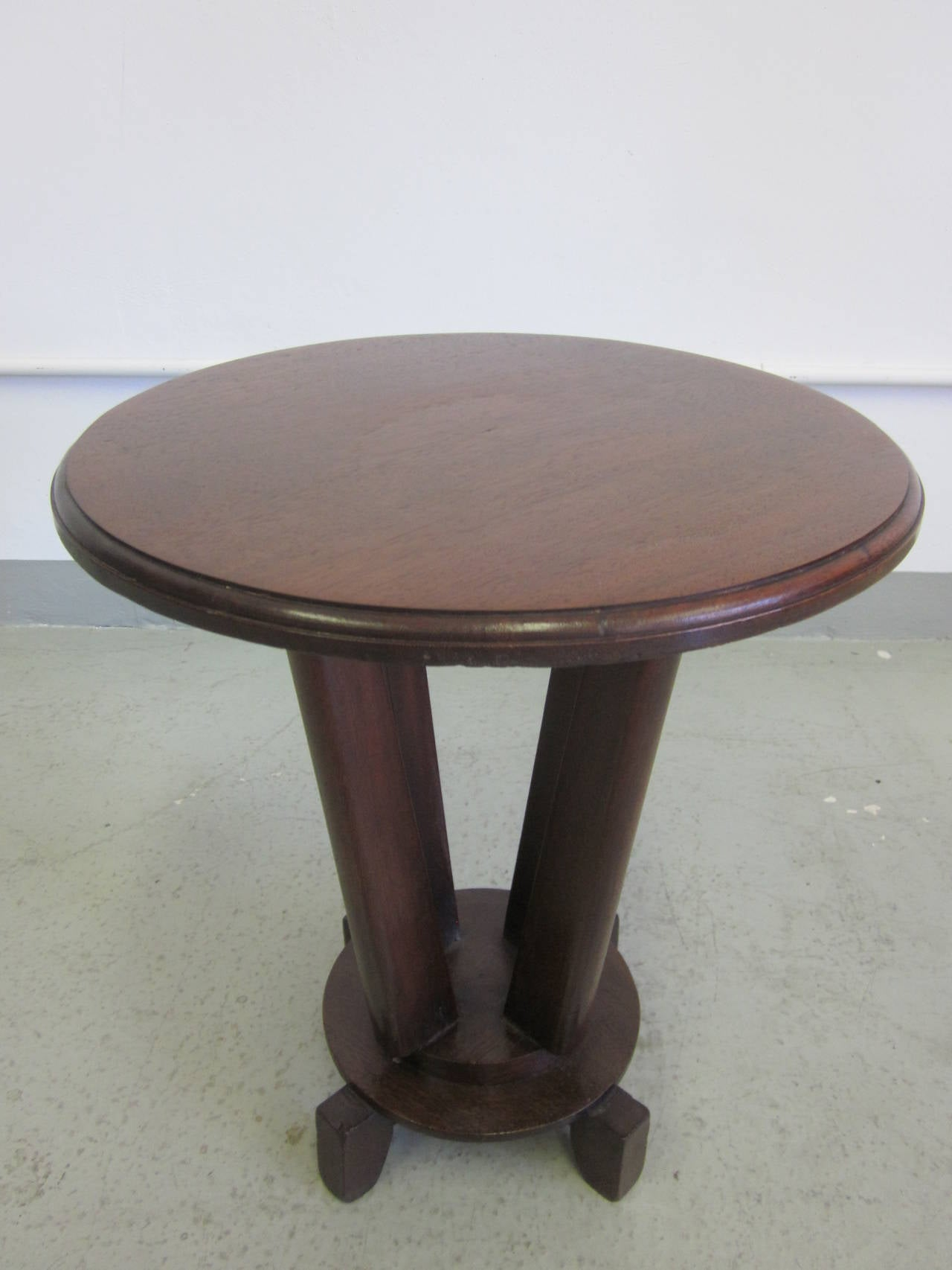 Mid-20th Century French Colonial Gueridon or Side Table For Sale