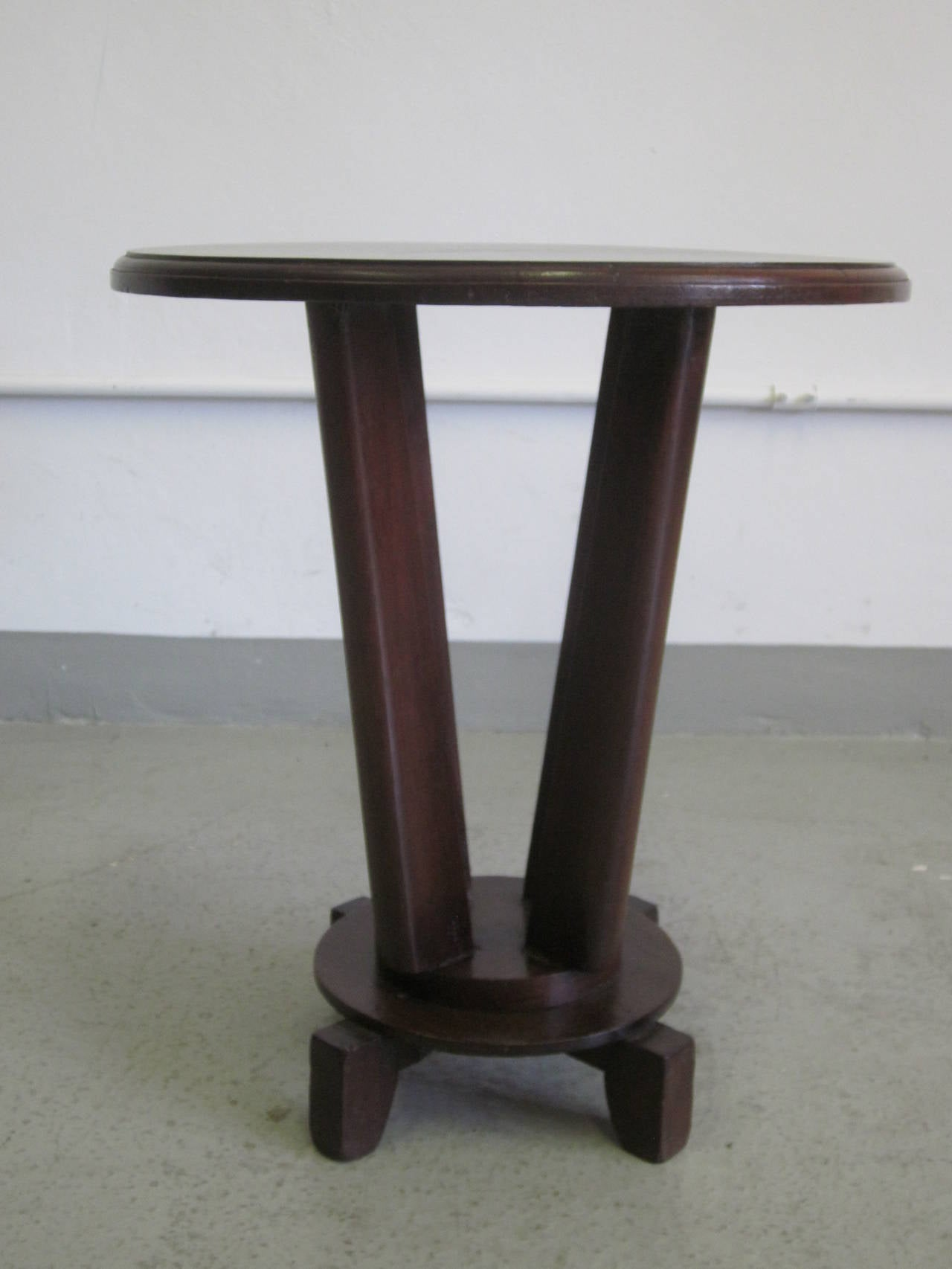 French Colonial Gueridon or Side Table For Sale 2