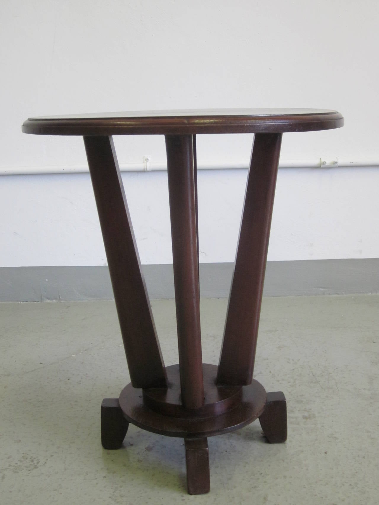 French Colonial Gueridon or Side Table For Sale 1