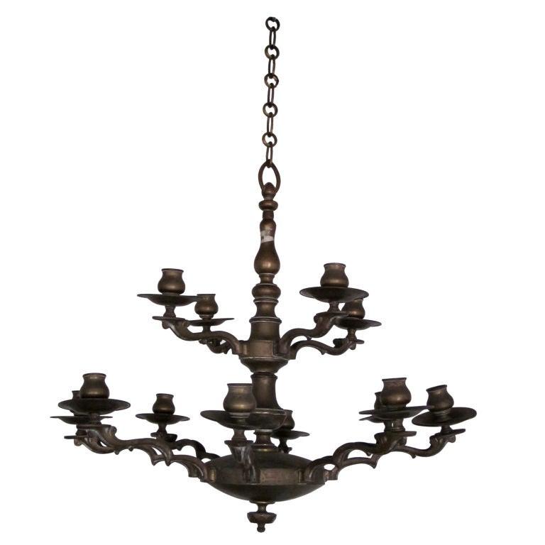 Double-level chandelier, 1920s