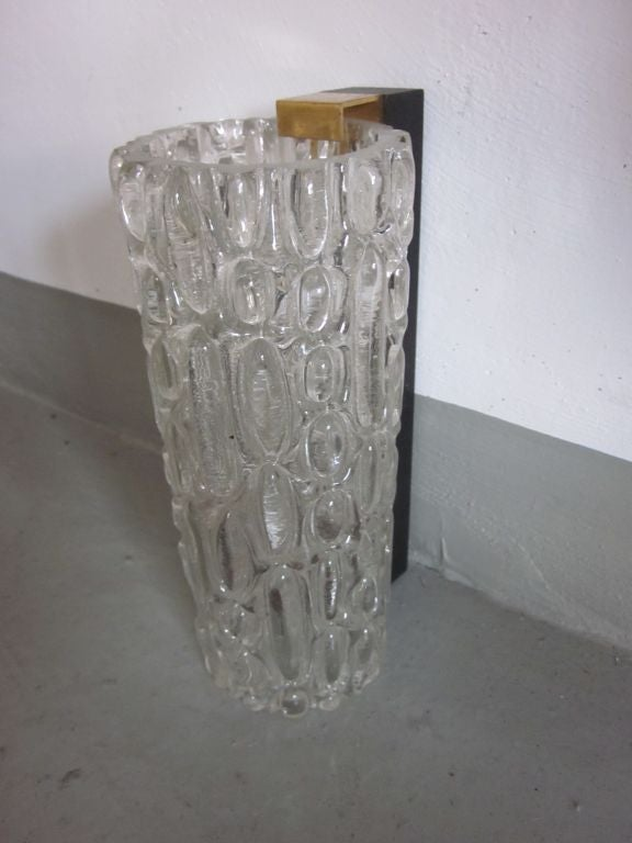 Pair of Italian Murano Glass Sconces For Sale 2
