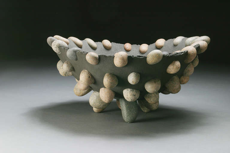 Stone Modern Craftsman Bowl by Don Moss 7