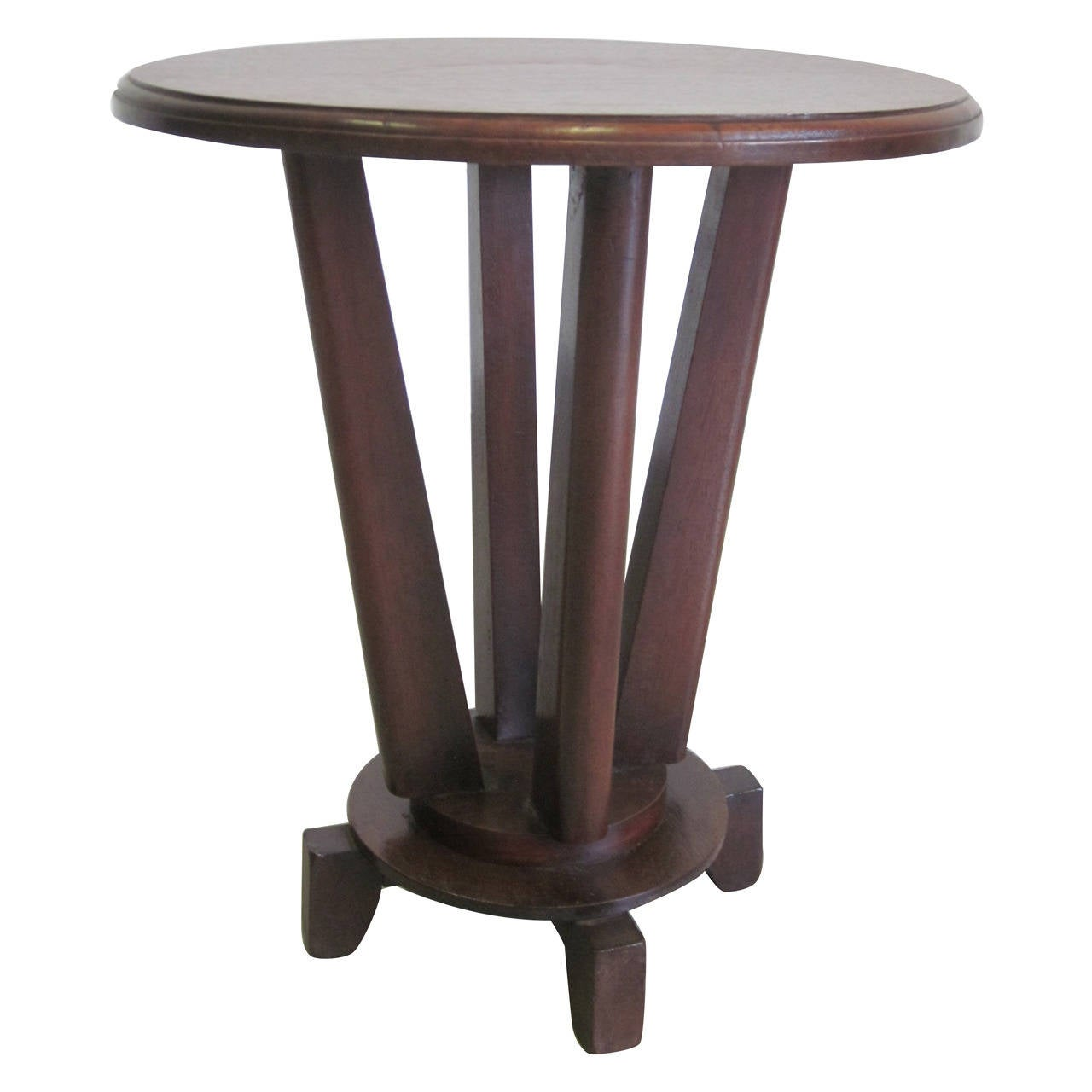 french colonial gueridon or side table for sale at 1stdibs. Black Bedroom Furniture Sets. Home Design Ideas