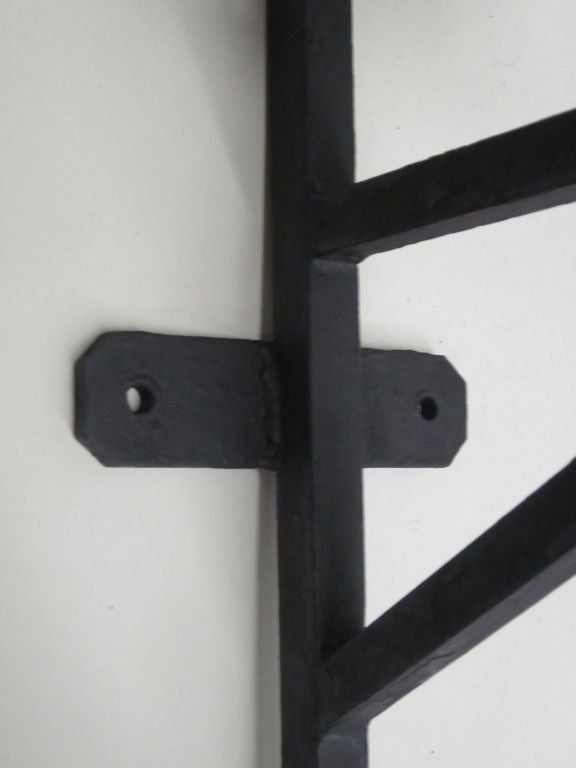 Pair of French Wrought Iron Sconces in the Style of Marc DuPlantier For Sale 2