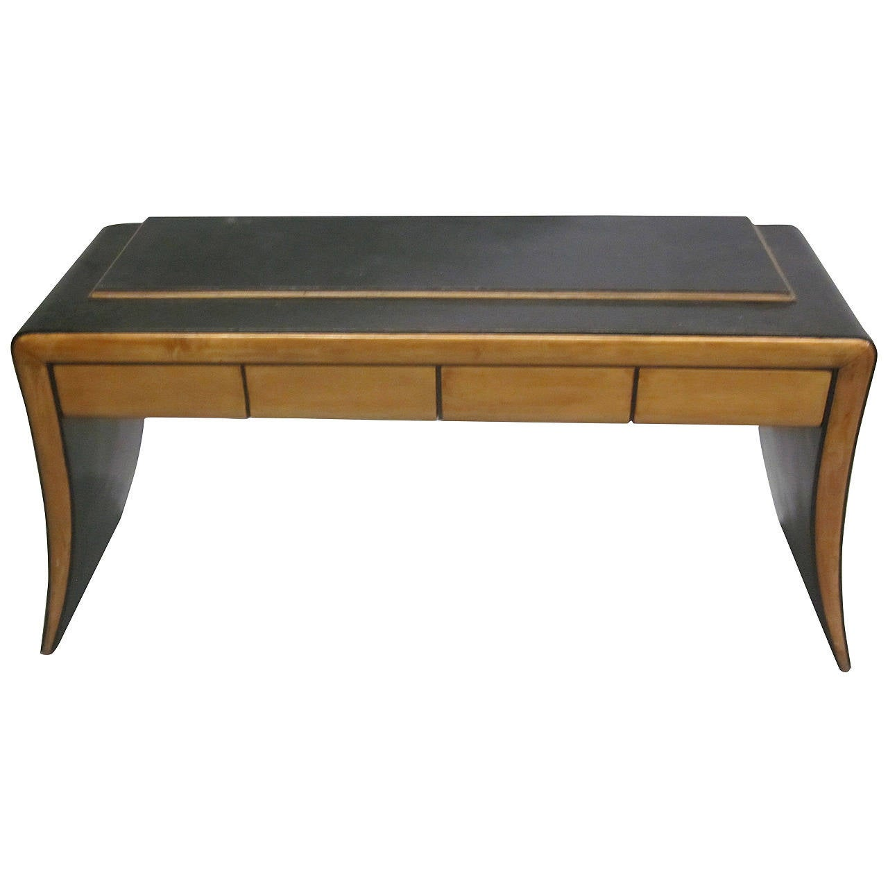 Italian Mid-Century Modern Neoclassical Vanity / Sofa Table by Paolo Buffa, 1930 1