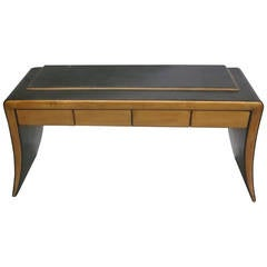 Italian Mid-Century Modern Neoclassical Vanity / Sofa Table by Paolo Buffa, 1930