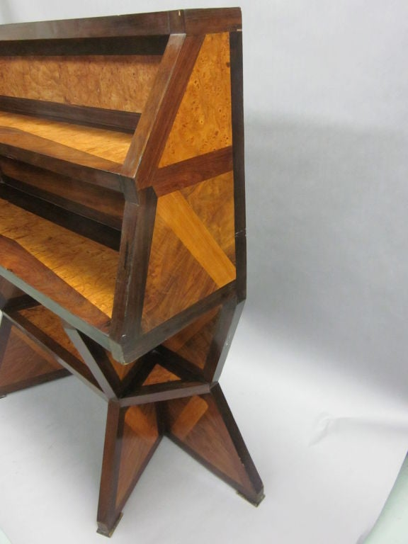 Important Italian Futurist Etagere Attributed to Giacomo Balla 9