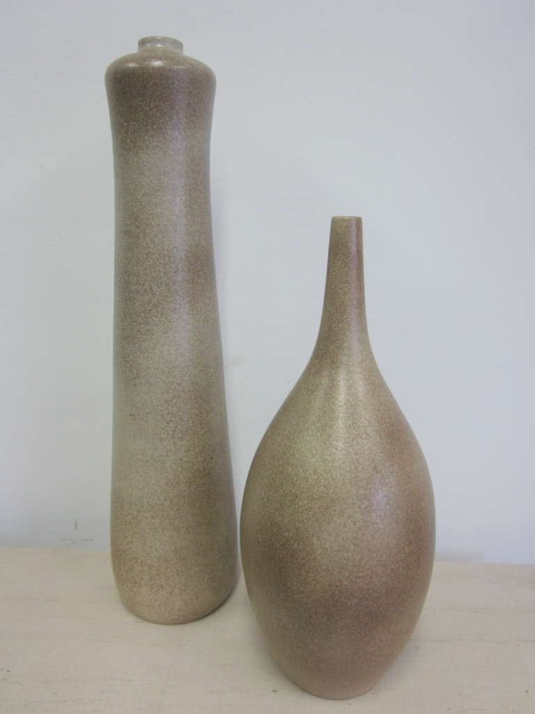 2 Very Large French Mid-Century Modern Sculptural Vases / Urns by Marius Musarra 4