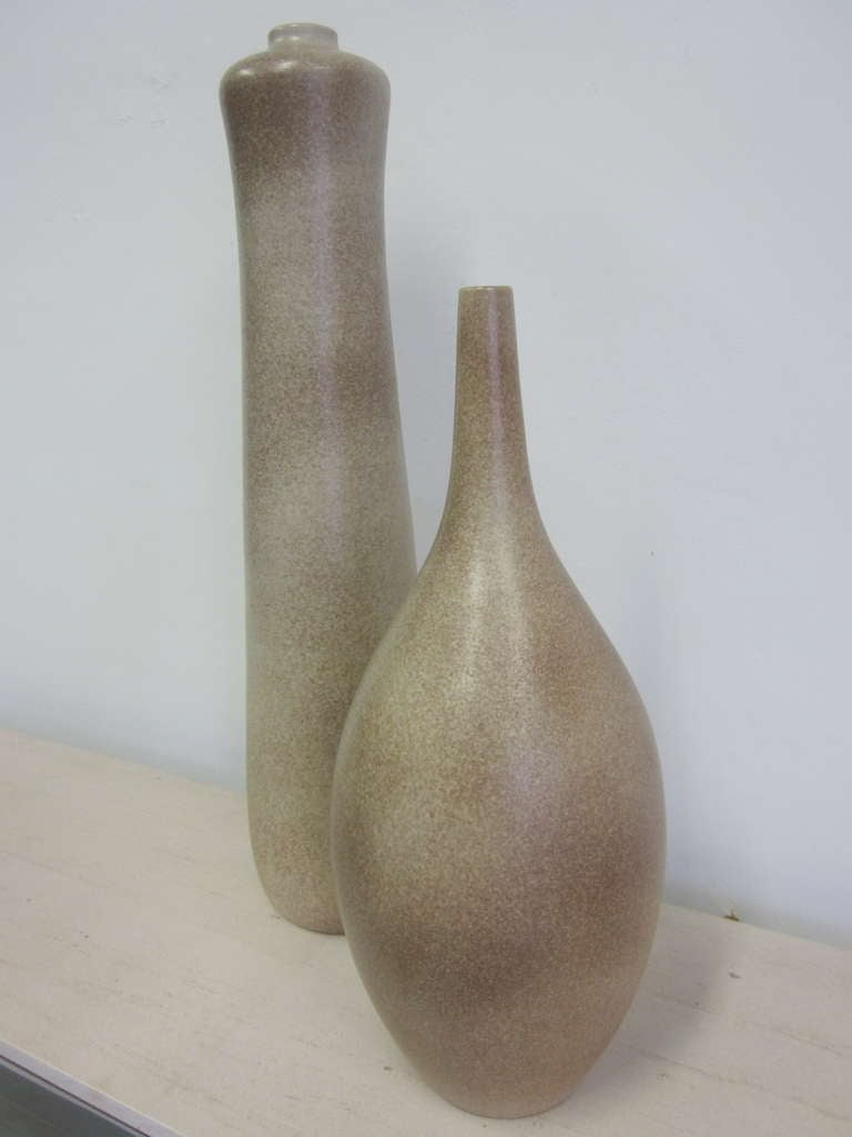 Two Very Large French Sculptural Vases by Marius Musarra 3