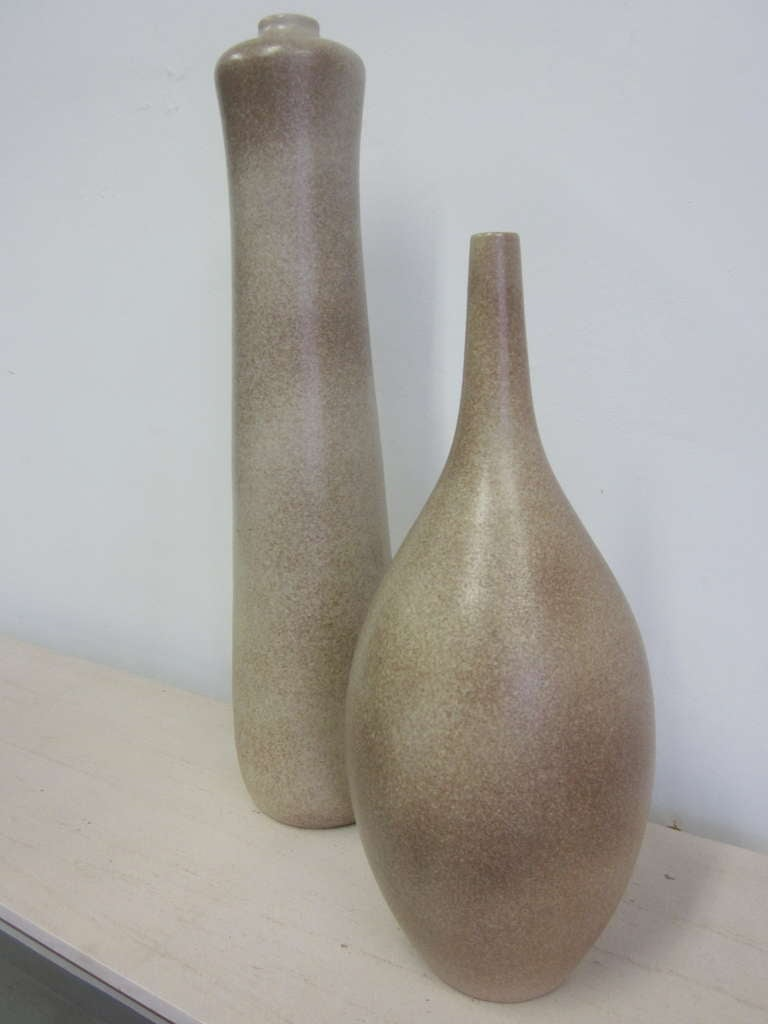 Two Very Large French Sculptural Vases by Marius Musarra 5