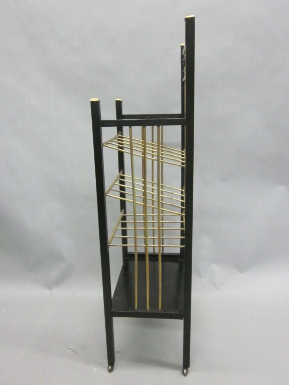 Viennese Secession Etagere / Magazine Stand in the Style of Koloman Moser 4