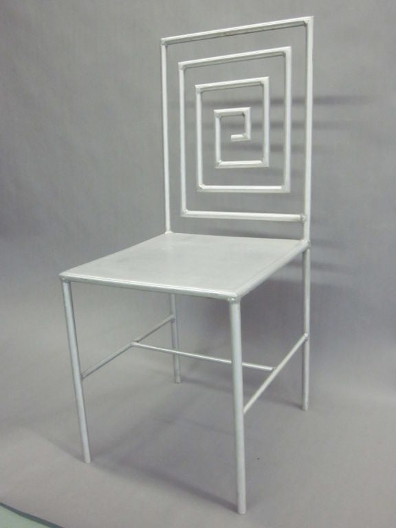 Mid-Century Modern Late 20th Century Artist Made / Modern Craftsman Chair by Jose Pascual  For Sale