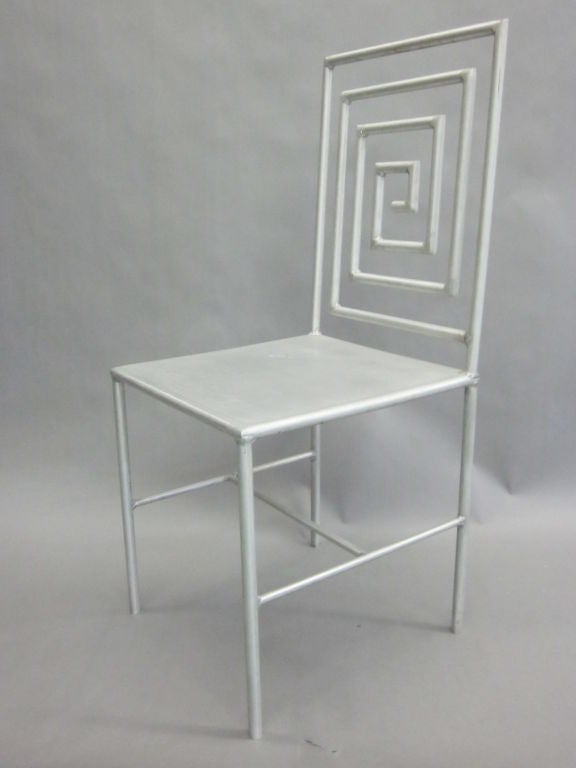 American Late 20th Century Artist Made / Modern Craftsman Chair by Jose Pascual  For Sale